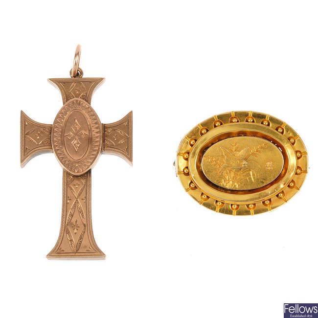 Two memorial items.
