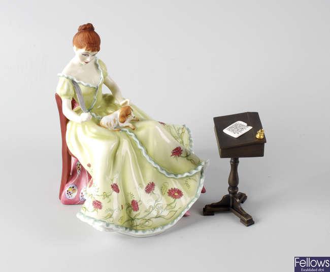 A Royal Doulton limited edition bone china figurine.
