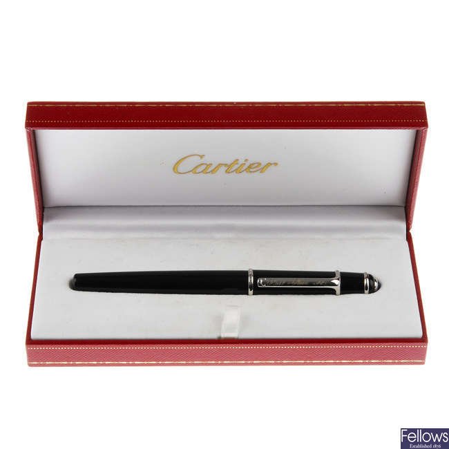 CARTIER - a ballpoint pen.
