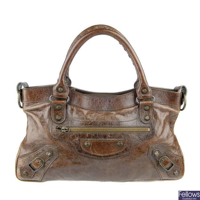 BALENCIAGA - a Classic City handbag.