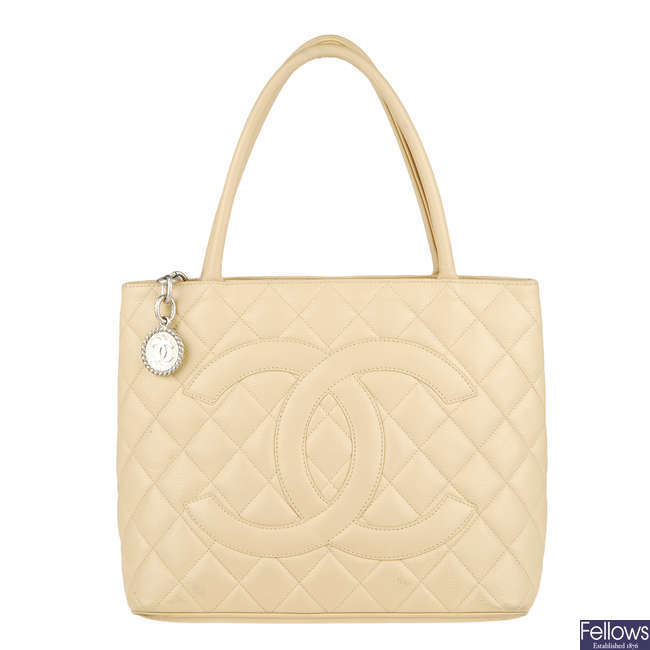 CHANEL - a Medallion tote handbag.