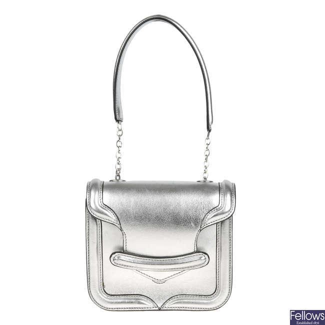 ALEXANDER MCQUEEN - a Mini Heroine handbag.