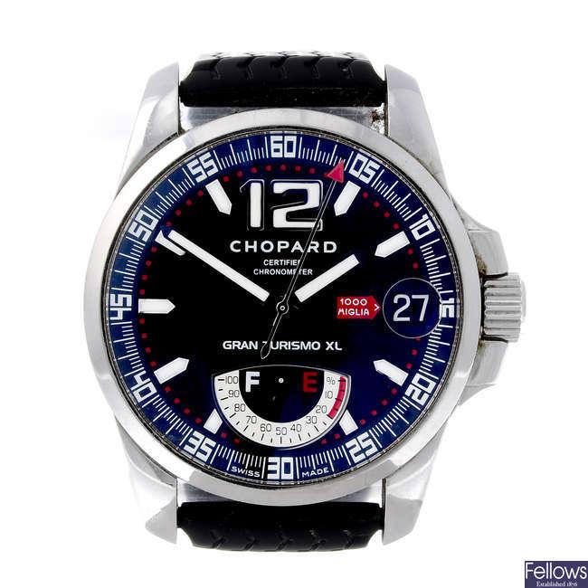 CHOPARD - a gentleman's stainless steel Mille Miglia Gran Turisimo XL wrist watch.