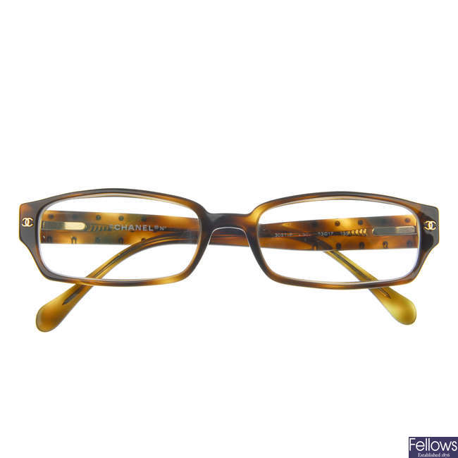 CHANEL - a pair of prescription glasses.