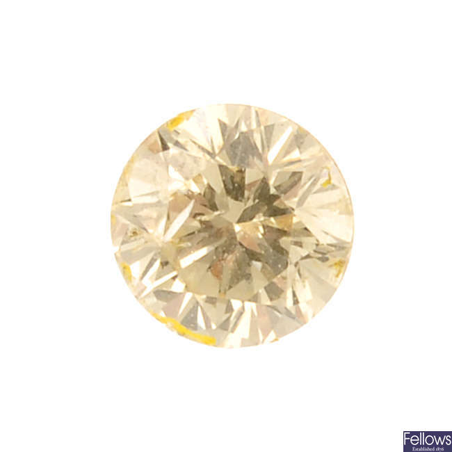 Four brilliant-cut diamonds, total weight 1.06cts.