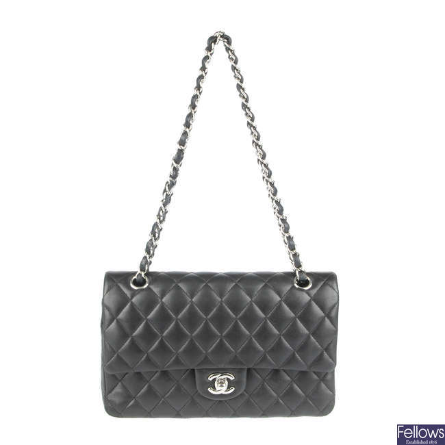 CHANEL - a Medium Classic Double Flap handbag.