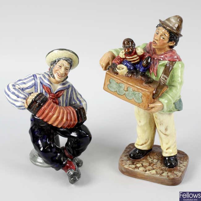 Two Royal Doulton figures