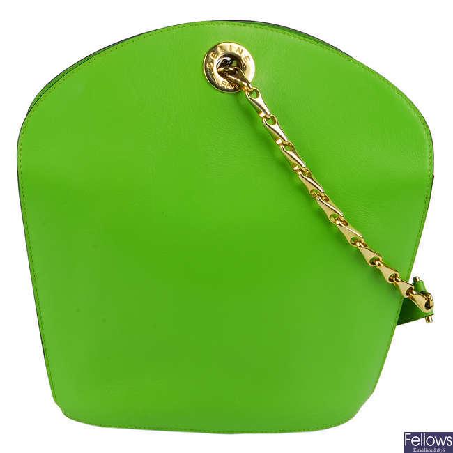 CÉLINE - a vintage bucket handbag.