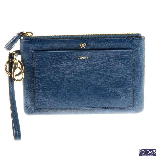 ANYA HINDMARCH - a Clip On Loose Pocket purse.