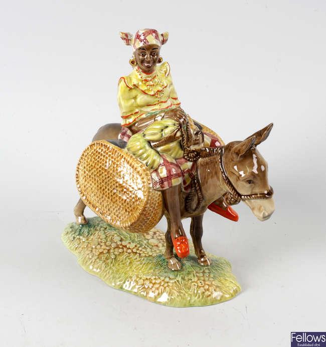 A Beswick figure, 'Susie Jamaica'.
