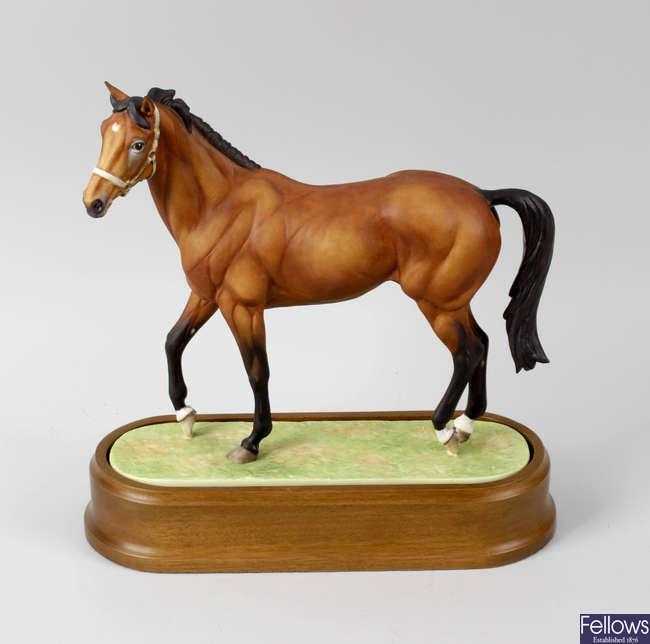 A Royal Worcester porcelain model of Nijinsky