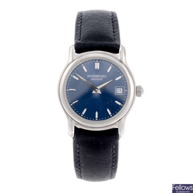 RAYMOND WEIL - a lady's stainless steel Tradition wrist watch.
