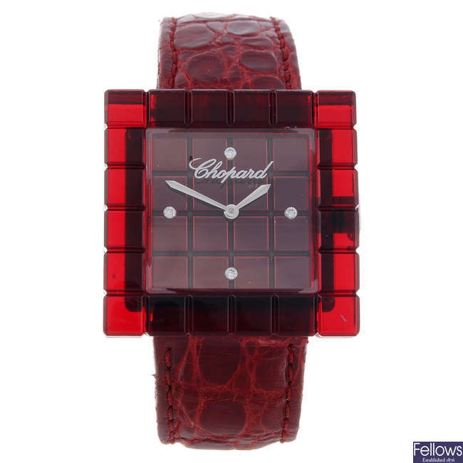CHOPARD - a limited edition lady's bi-material Be Mad wrist watch.