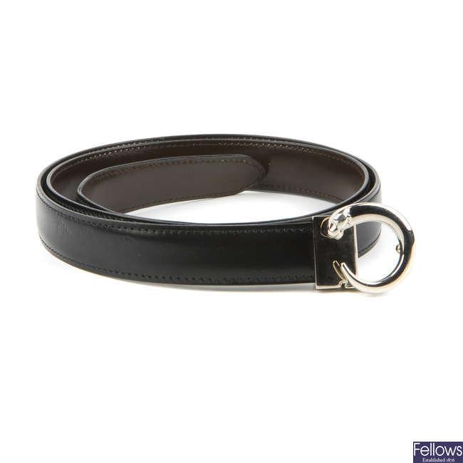 CARTIER - a Panthere belt.
