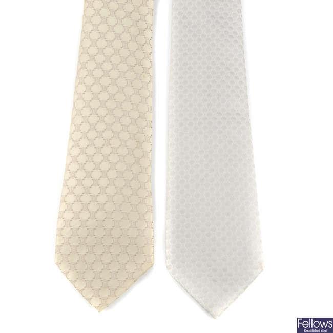 CÉLINE - two ties.