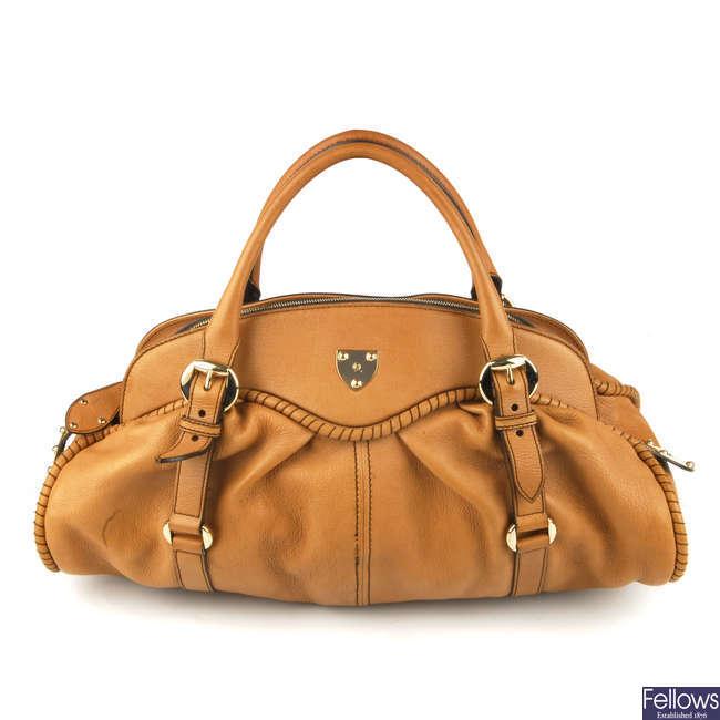 ALEXANDER MCQUEEN - a '1962' leather handbag.