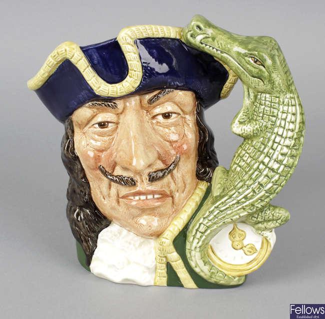 A Royal Doulton character jug.