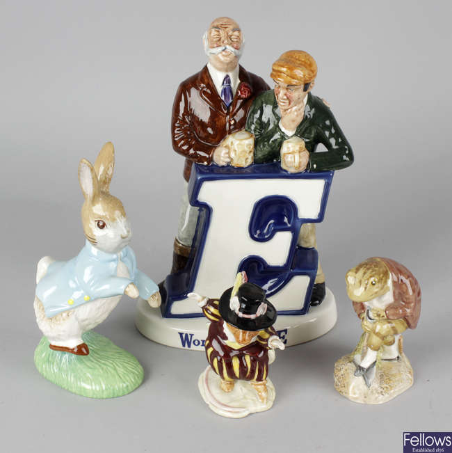 A selection of assorted Beswick.