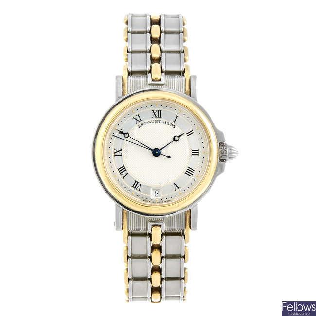 BREGUET - a gentleman's bi-metal Classique bracelet watch.