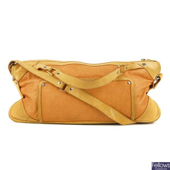 CÉLINE - a leather handbag.