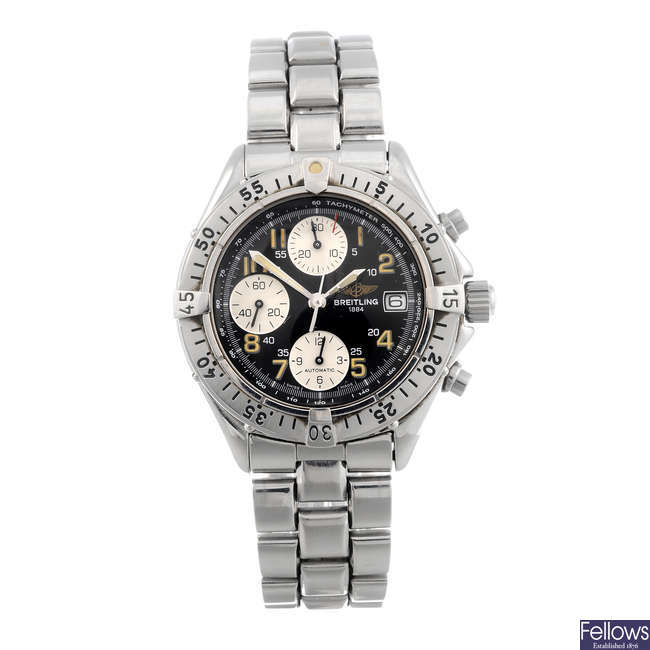BREITLING - a gentleman's stainless steel Colt Chrono chronograph bracelet watch.
