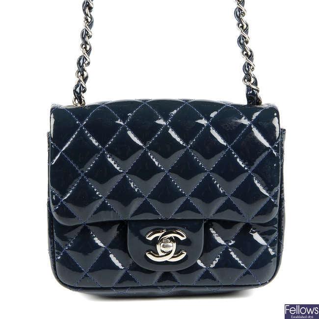 CHANEL - a Mini Classic Flap handbag.