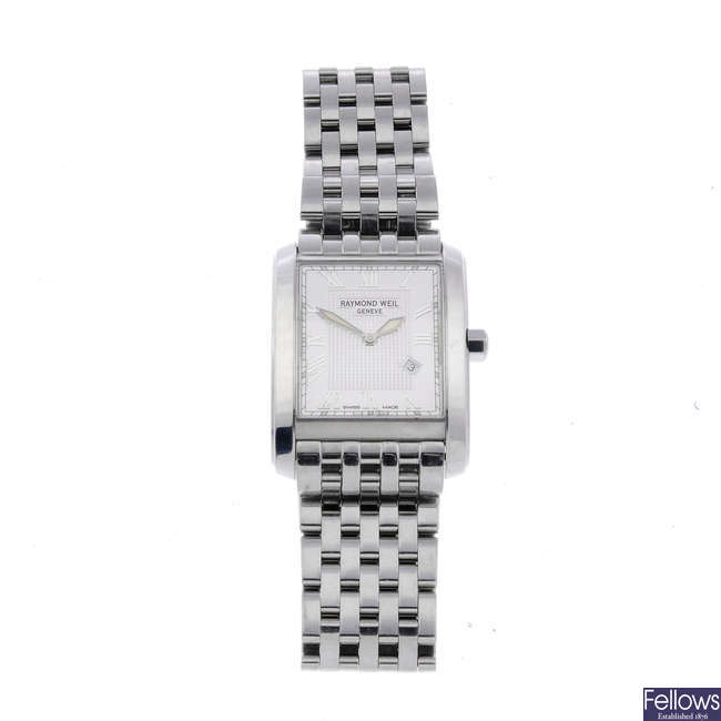 RAYMOND WEIL - a gentleman's stainless steel Don Giovanni bracelet watch.