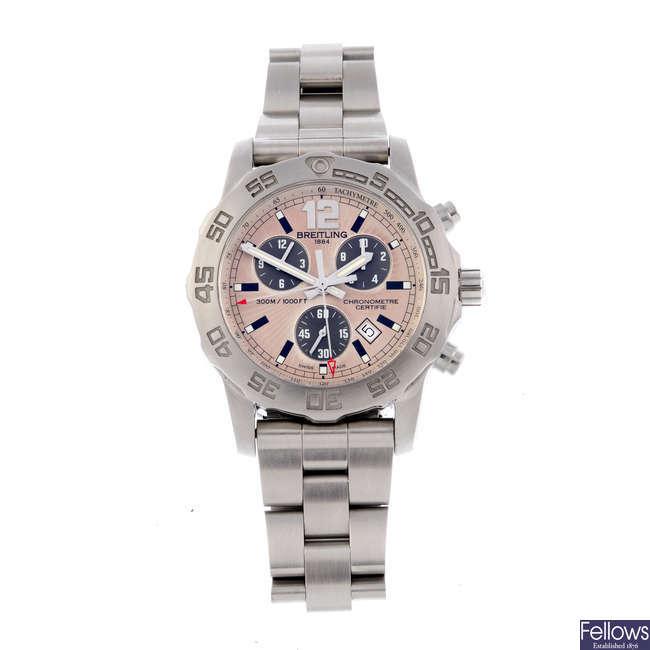 BREITLING - a gentleman's Aeromarine Colt 'Chronograph II' chronograph bracelet watch.