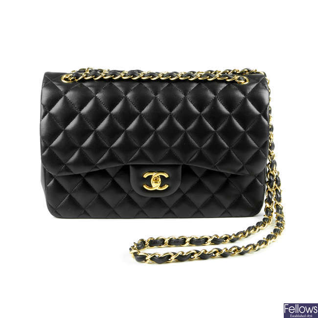 CHANEL - a Jumbo Classic Double Flap handbag.