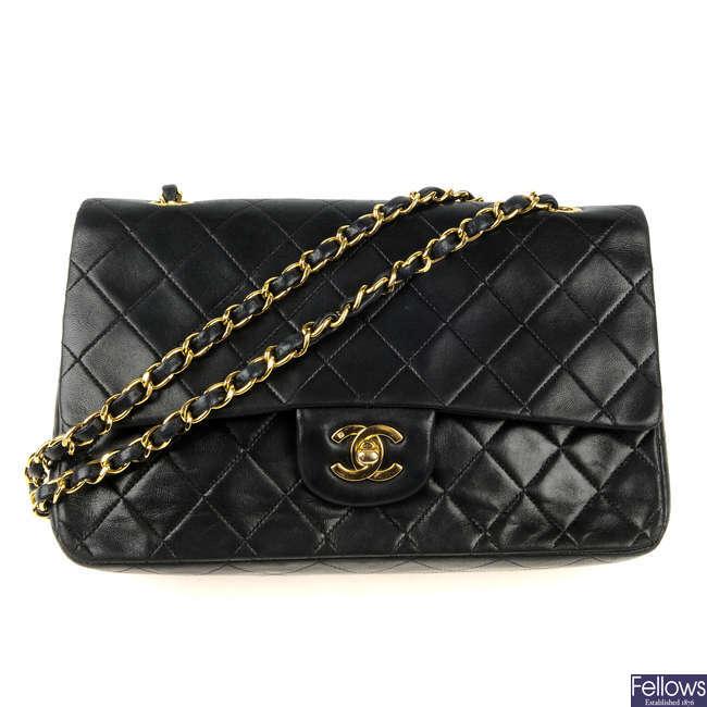 CHANEL - a Medium Classic Double Flap handbag.