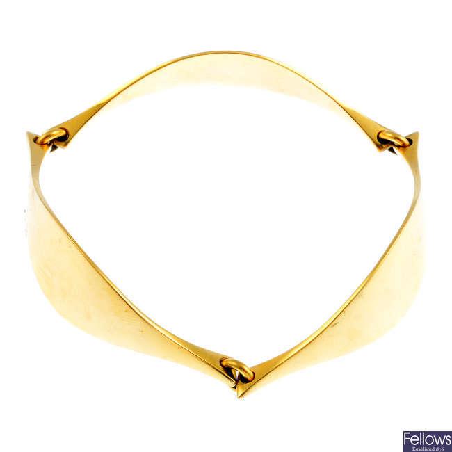 HANS HANSEN - a bracelet, no. 202.
