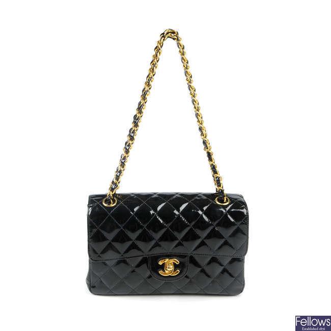 CHANEL - a Double Sided Flap handbag.