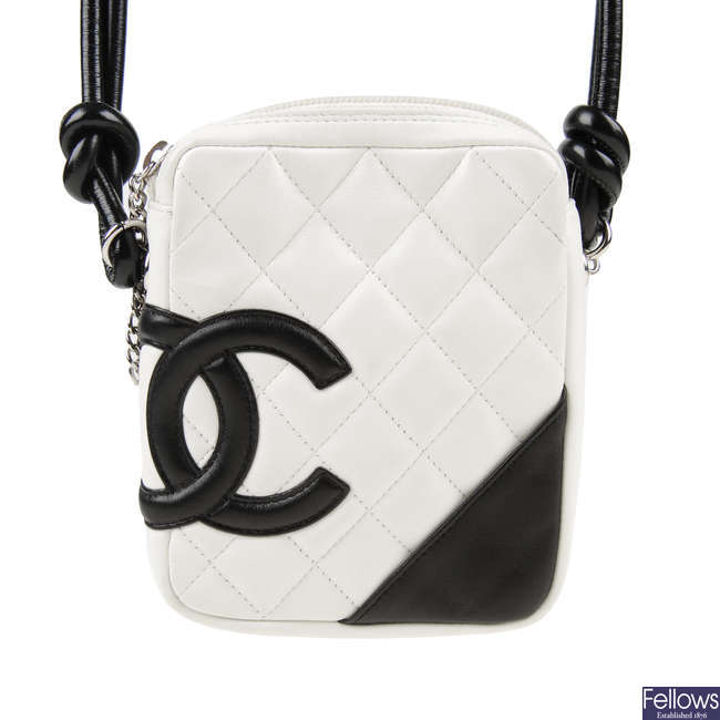 CHANEL - a Mini Ligne Cambon handbag.