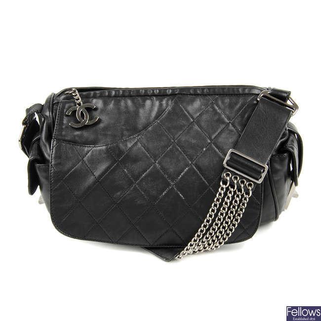 CHANEL - a Camera Flap handbag.