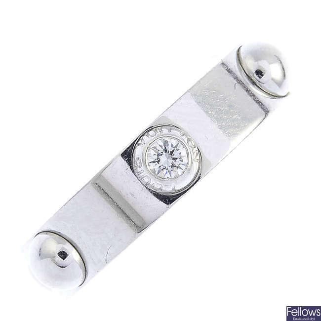LOUIS VUITTON - a diamond 'Clous' ring.
