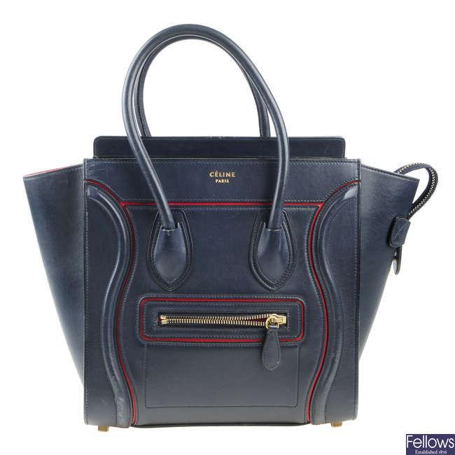 CÉLINE - a Micro Luggage handbag.