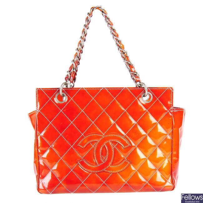 CHANEL - a Petite Timeless Tote.