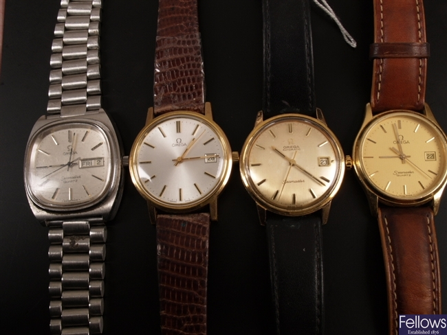 OMEGA - a gentleman's gold plate and steel