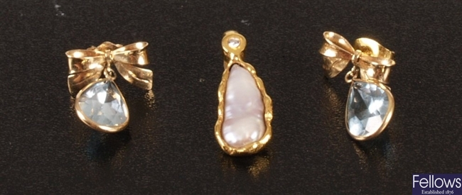 A diamond and freshwater pearl separator, also a