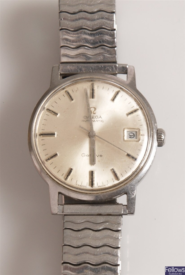 OMEGA - a gentleman's automatic watch with an all