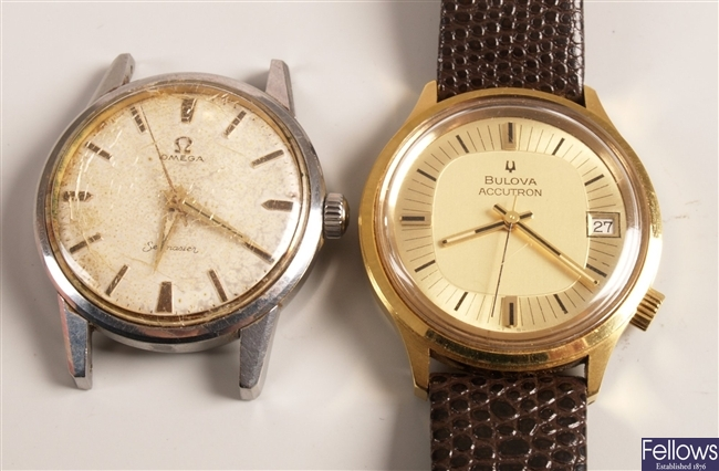 BULOVA - a gentleman's gold plated Accutron with