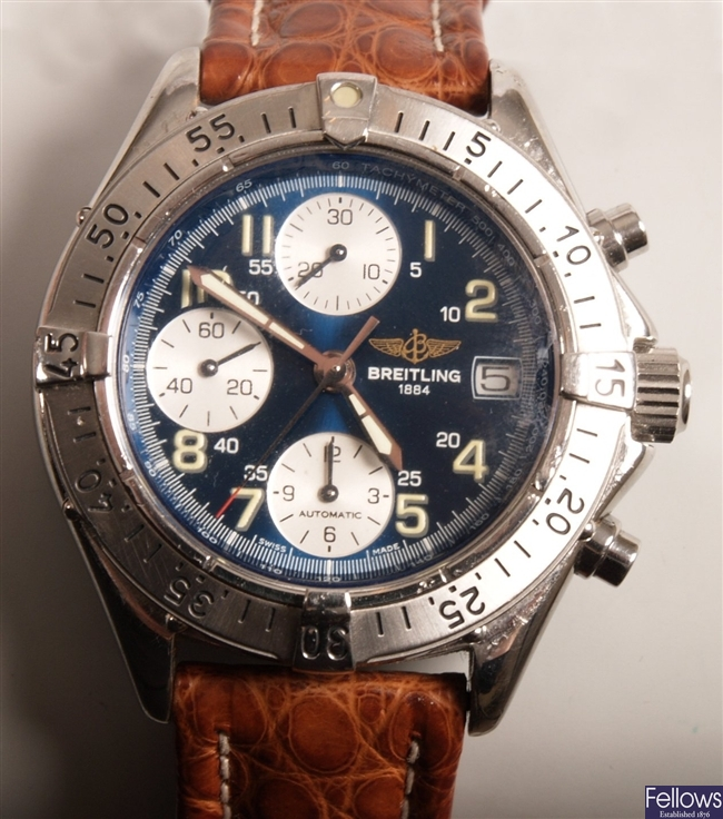 BREITLING - gentleman's chronograph Avenger with