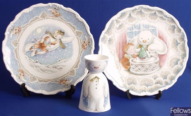 R. Doulton snowman items