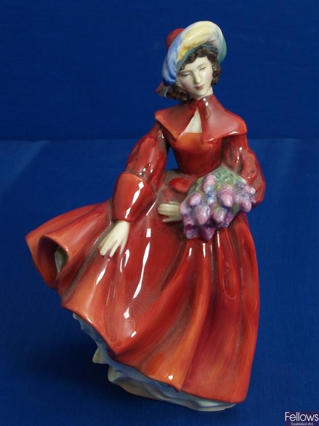 A Royal Doulton figurine entitled 'Lilac Time',