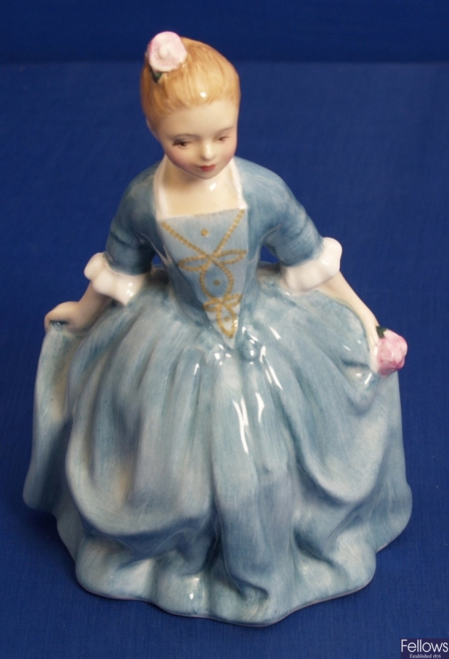 A Royal Doulton figure 'A Child from