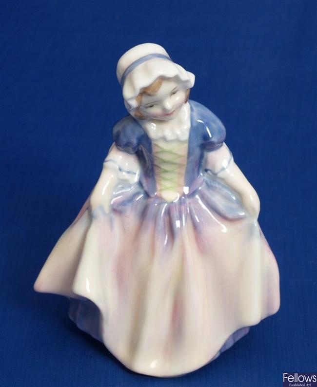 A Royal Doulton figure 'Dinky Do', HN1678, 4.25