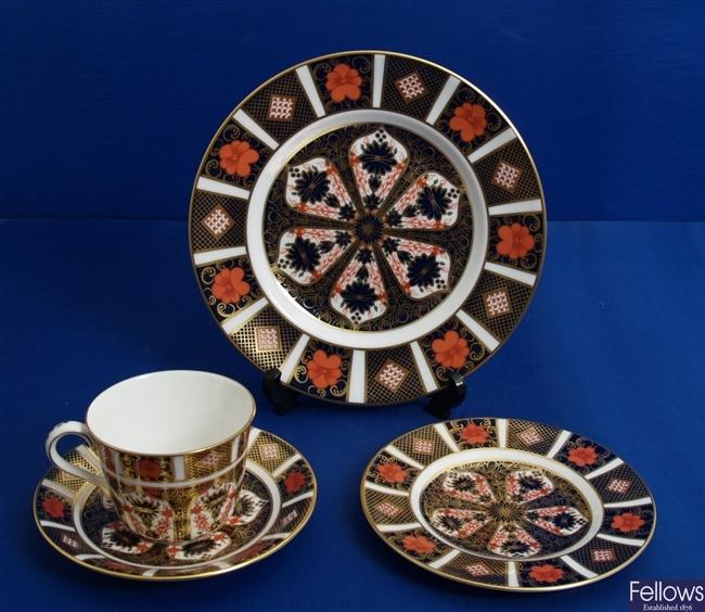 A Royal Crown Derby Imari plate