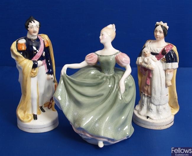 A Royal Doulton bone china figurine entitled