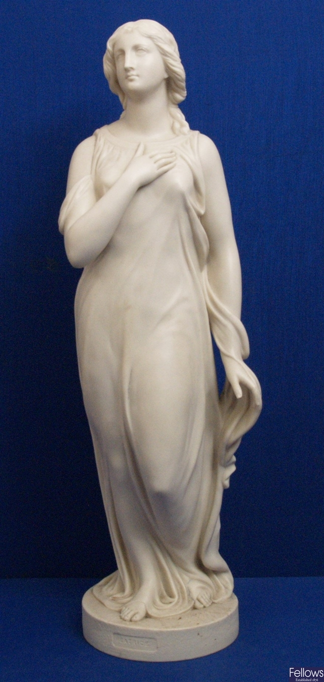 A 19th Century Copeland parion figure 'Beatrice',
