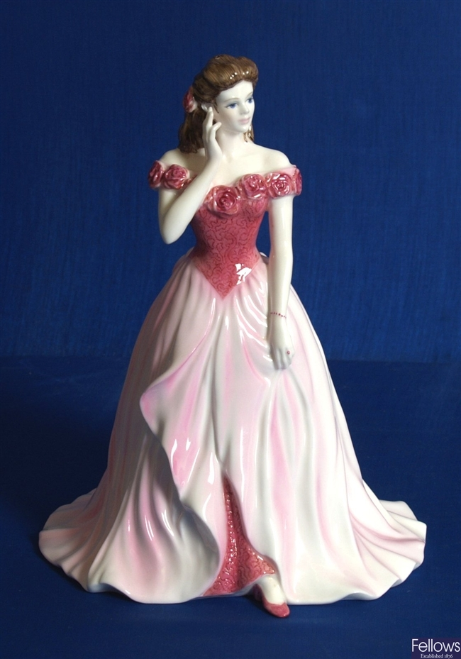 A Coalport figurine of the year, 'Sarah', 8